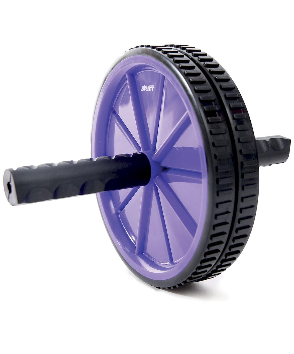 """Ролик для пресса Star Fit """"RL-101"""", цвет: фиолетовый, черный"""