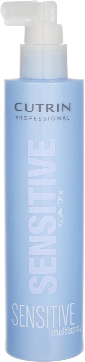 Cutrin Многофункциональный спрей сильной фиксации Fragrance Free Multi Spray Strong, без отдушки, 200 мл