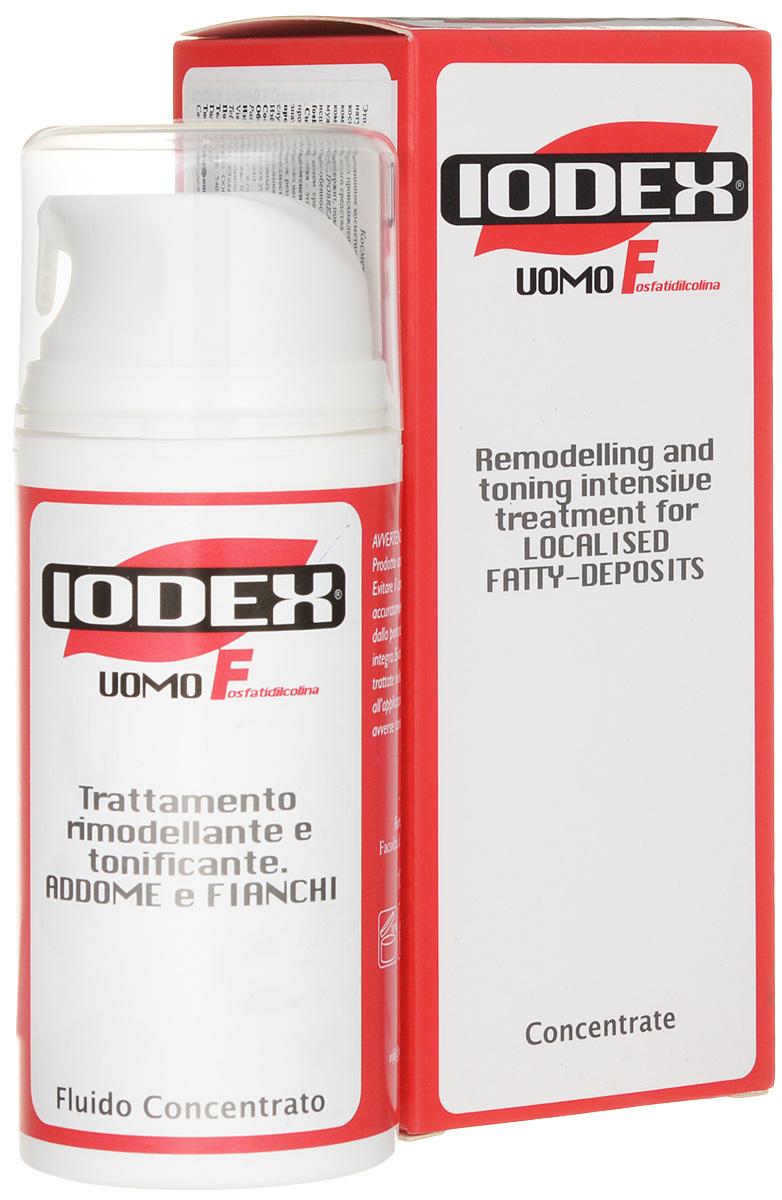 Iodase Сыворотка для тела для мужчин Iodex Uomo F -Fosfatidilcolina-, 100 мл0893Особенный Ф-комплекс содержит, помимо фосфатидилколина, также Адипокины - смесь натуральных активных компонентов, которые совместно борются против жировых отложений.