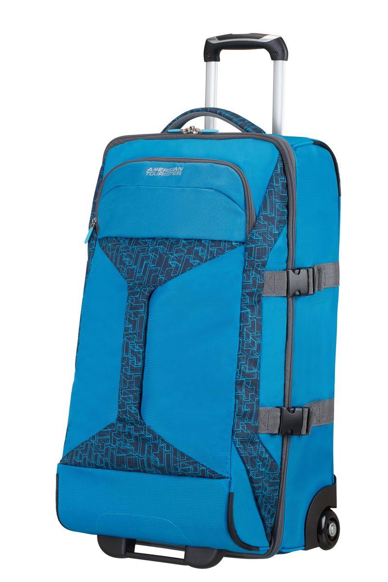 Сумка-тележка American Tourister, цвет: синий, 62,5 л. 16G*1100216G*11002