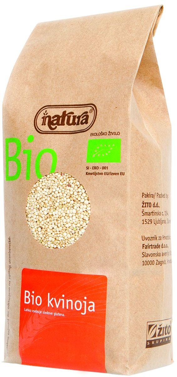 Zito Natura Bio Крупа киноа органическая, 400 г3400001Киноа – это древнее растение родом из гор Анд в Южной Америке. Она может заменить практически любые злаки практически в любых блюдах. Она отличается приятным сладким вкусом, который разнообразит ваш ежедневный рацион. Промойте водой перед приготовлением, чтобы смыть сапонины, придающие крупе горьковатый привкус. Органические продукты Natura имеют маркировку в соответствии с законодательством и европейскую экологическую маркировку сертифицированных органических продуктов питания, так как при их производстве не используются удобрения и распылители, запрещенные в органическом производстве и обработке. Органические продукты произведены под контролем SI – EKO – 001. Органические продукты Natura производятся в регионах, где природа пока еще живет своей жизнью. Они попадают на полки магазинов и на столы людей, выбирающих здоровое питание, в той же форме, в которой их создала природа: натуральными, питательными и здоровыми. Разнообразные натуральные зерна и семена...
