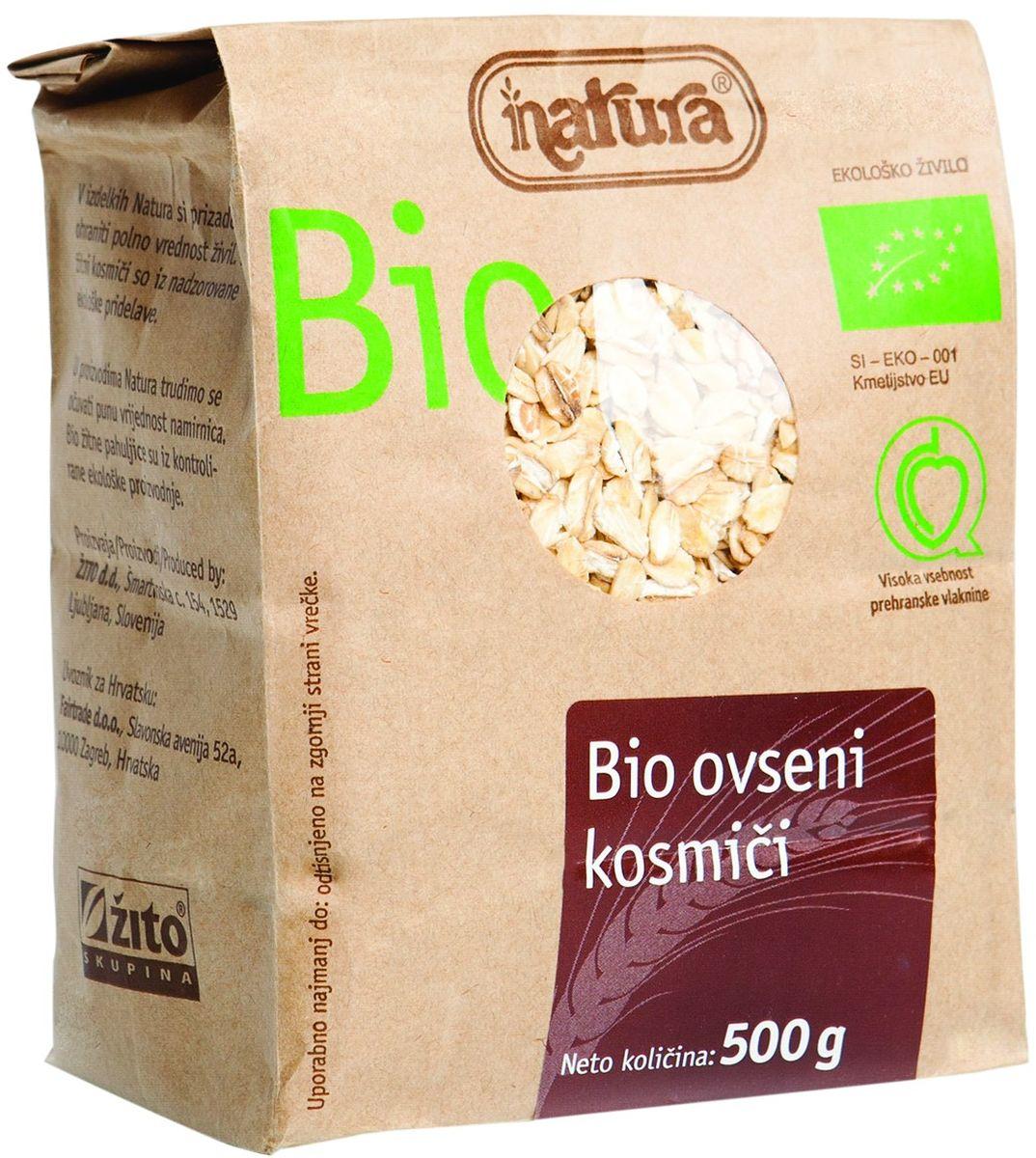 Zito Natura Bio Хлопья овсяные органические, 500 г 3400202