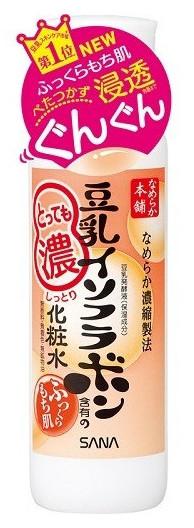 Sana Увлажняющий лосьон Soy Milk Moisture Lotion, с изофлавонами сои, 200мл413322Лосьон глубоко увлажняет, повышает естественные упругость и эластичность кожи за счет действия полученных из соевых бобов увлажняющих компонентов: изофлавоны, полученные из соевых бобов; изофлавоны, полученные из ферментированного соевого молока; экстракт соевых бобов; растительный коллаген, полученный из соевого белка. Не содержит парфюмерных отдушек, искусcтвенных красителей и минеральных масел. В состав не входит генно - модифицированная соя.