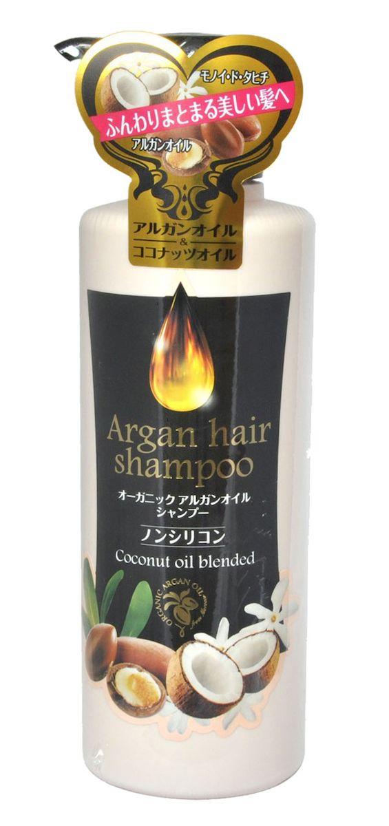 Kurobara Шампунь для волос с маслом арганы Arganoil Shampoo, 450 мл974137Шампунь с маслом арганы нежно заботится о Ваших волосах: увлажняет, восстанавливает, делает их гладкими и блестящими. Волосы становятся красивыми и здоровыми. В состав входит 2 органических компонента: масло арганы производства Марокко и сквалан, полученный из сахарного тростника, а также комплекс растительных компонентов, ухаживающих за волосами и придающих им блеск. Активные компоненты: Масло арганы защищает волосы от негативного воздействия окружающей среды, усиливает рост волос, восстанавливает их структуру, питает, делает волосы сильными, послушными, шелковистыми. Масло Моной де Таити – традиционное полинезийское масло, получаемое на основе экстракта гардении таитянской и рафинированного кокосового масла. Масло укрепляет и оздоравливает волосы, придает им естественный блеск. Восстанавливает поврежденные волосы, увлажняет. Гидролизованный кератин и фитостерол/октилдодецил лауроил глутамат. Эти компоненты, схожие с клеточно-мембранным комплексом волос, глубоко...