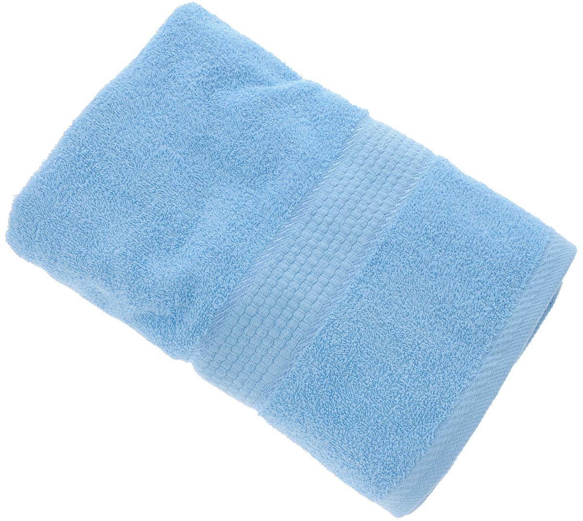 Полотенце Aisha Home Textile, цвет: голубой, 70 х 140 смУзТ-ПМ-114-08-06кМахровые полотенца AISHA Home Textile идеальное сочетание цены и качества. Полотенца упакованы в стильную подарочную коробку. В состав входит только натуральное волокно - хлопок. Лаконичные бордюры подойдут для любого интерьера ванной комнаты. Полотенца прекрасно впитывает влагу и быстро сохнут. При соблюдении рекомендаций по уходу не линяют и не теряют форму даже после многократных стирок. Состав: 100% хлопок.
