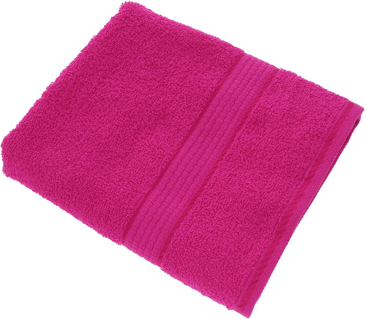 Полотенце Aisha Home Textile, цвет: фуксия, 50 х 90 смУзТ-ПМ-112-08-28кМахровые полотенца AISHA Home Textile идеальное сочетание цены и качества. Полотенца упакованы в стильную подарочную коробку. В состав входит только натуральное волокно - хлопок. Лаконичные бордюры подойдут для любого интерьера ванной комнаты. Полотенца прекрасно впитывает влагу и быстро сохнут. При соблюдении рекомендаций по уходу не линяют и не теряют форму даже после многократных стирок. Состав: 100% хлопок.