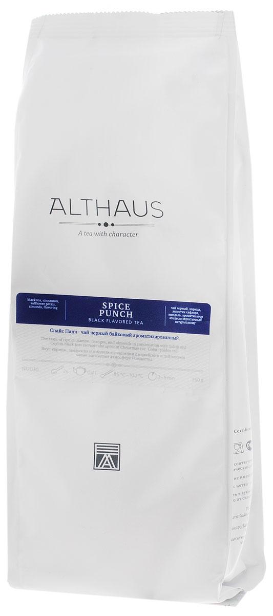 Althaus Spice Punch черный листовой чай, 250 гTALTHL-L00094Спайс Панч — превосходная смесь индийских и цейлонских черных чаев с пряным ароматом Востока. Этот чудесный напиток заменит вам чашку ароматного вечернего пунша. Купаж Спайс Панч имеет очень интересный внешний вид: черные чаинки гармонично сочетаются с огненно-шафрановыми лепестками сафлора, палочками корицы и кусочками миндального ореха. В букете Спайс Панч звучит многоголосие заморских пряностей: жгучая нота корицы, пикантная острота гвоздики, бархатистая горчинка миндаля, сладость имбирного печенья раскрываются в ярком янтарном настое. Зрелая корица, апельсины и миндаль рождают атмосферу рождественского праздника. Восхитительный аромат Спайс Панч тонизирует и согревает долгими зимними вечерами. Оптимальная температура заваривания Спайс Панч 95°С. Температура воды: 85-100 °С Время заваривания: 3-5 мин Цвет в чашке: насыщенный бронзовый