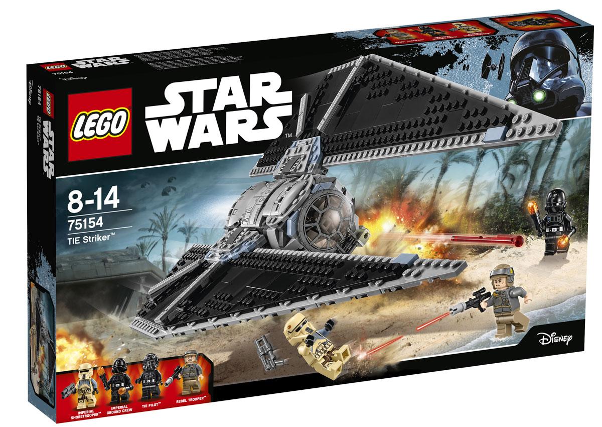 LEGO Star Wars Конструктор Ударный истребитель СИД 7515475154Подготовьтесь к запуску удивительного истребителя СИД - патрульного летательного аппарата Империи! Откройте верхнюю или переднюю часть кабины и посадите туда мини-фигурку пилота. Помогите члену наземной команды Империи перезарядить и привести в боевое положение пружинные пушки в задней части машины. Затем отрегулируйте огромные крылья и взлетайте в небо на поиски повстанцев! Из деталей набора собирается звездный истребитель TIE Striker - модернизированная модель истребителей серии TIE, разработанная специально для боя в атмосфере и обороны наземных баз Империи. Кроме того, корабли этого типа могут вести бой и в межгалактическом пространстве наряду с другими космическими боевыми машинами. Истребитель оборудован подвижными крыльями, двумя пружинными пушками, кабиной, рассчитанной на одну мини-фигурку и отсеком для дополнительных боеприпасов. Выберите сторону - Империи или Альянса и разыграйте битву между повстанцами и Имперской боевой машины по своему собственному сценарию! ...