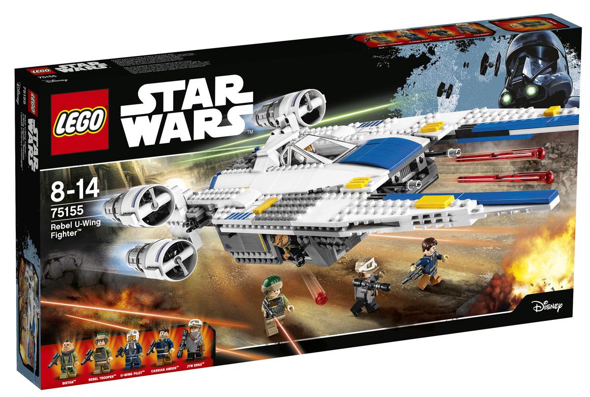 LEGO Star Wars Конструктор Истребитель Повстанцев U-Wing 7515575155Откройте кокпит и посадите мини-фигурку в кресло пилота истребителя U-Wing. Запустите двигатели и отправляйтесь навстречу приключениям. Наблюдайте за происходящим на земле через прозрачное окно, а когда заметите врага, открывайте огонь из передних подпружиненных и боковых шипованных шутеров. Вы даже можете сложить крылья истребителя, чтобы сделать модель больше! Конструктор LEGO Star Wars Истребитель Повстанцев U-Wing - это новинка, созданная по мотивам художественного фильма Изгой-один. Звездные войны: Истории, премьера которого ожидается в декабре 2016 года. Сюжет нового фильма, посвященного противостоянию Империи и повстанческих сил, погружает вас в события, предшествующие IV эпизоду фантастической саги. Отряду самоотверженных повстанцев предстоит невыполнимая, на первый взгляд, миссия - выкрасть чертежи и схемы космической боевой станции Звезда Смерти. U-Wing - это канонерка - транспортное средство, предназначенное преимущественно для переброски и десантирования...