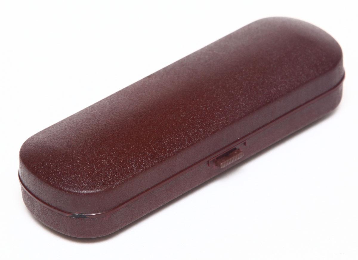 Proffi Home Футляр для очков Fabia Monti, 5,5х16 см, цвет: бордовый