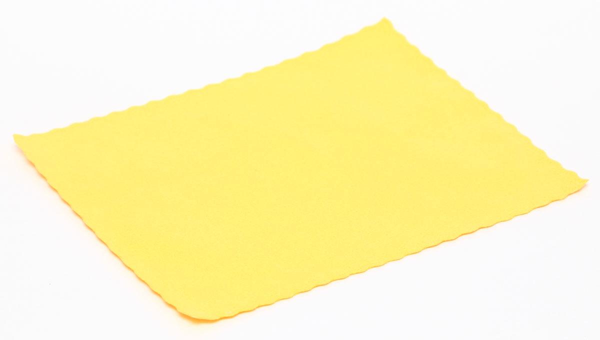 Proffi Home Салфетка для очков из микрофибры, цвет: желтыйPH6740Салфетка для очков не заменимая вещь. У нее плотная и мягкая текстура ткани. Благодаря специальной пропитки хорошо протирает любую поверхность очков.