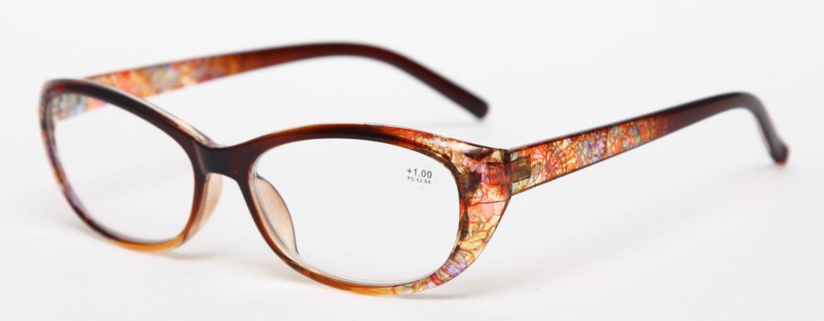 Proffi Home Очки корригирующие (для чтения) 729 Fabia Monti +1.00, цвет: желтыйPH7283Надев эти очки, вы сможете четко видеть пространство впереди себя. Они удобны при чтении. Оправа очков легкая и не создает никакого дискомфорта.