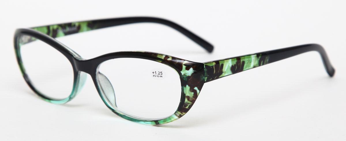 Proffi Home Очки корригирующие (для чтения) 729 Fabia Monti +1.25, цвет: зеленыйPH7284Надев эти очки, вы сможете четко видеть пространство впереди себя. Они удобны при чтении. Оправа очков легкая и не создает никакого дискомфорта.