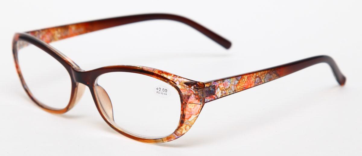 Proffi Home Очки корригирующие (для чтения) 729 Fabia Monti +2.00, цвет: желтыйPH7287Надев эти очки, вы сможете четко видеть пространство впереди себя. Они удобны при чтении. Оправа очков легкая и не создает никакого дискомфорта.