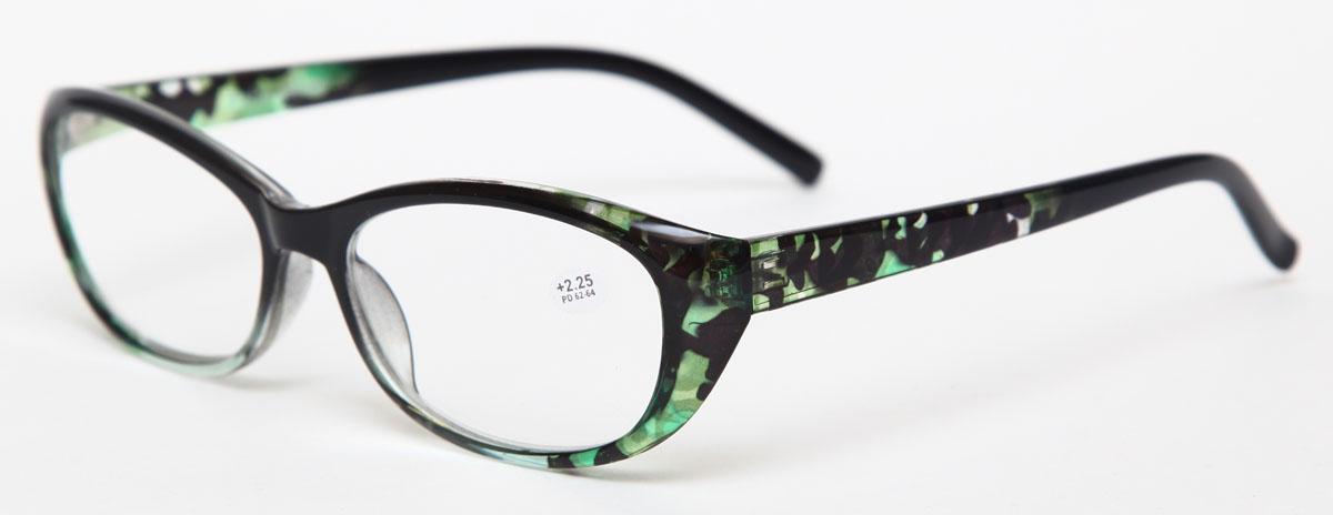Proffi Home Очки корригирующие (для чтения) 729 Fabia Monti +2.25, цвет: зеленыйPH7288Надев эти очки, вы сможете четко видеть пространство впереди себя. Они удобны при чтении. Оправа очков легкая и не создает никакого дискомфорта.