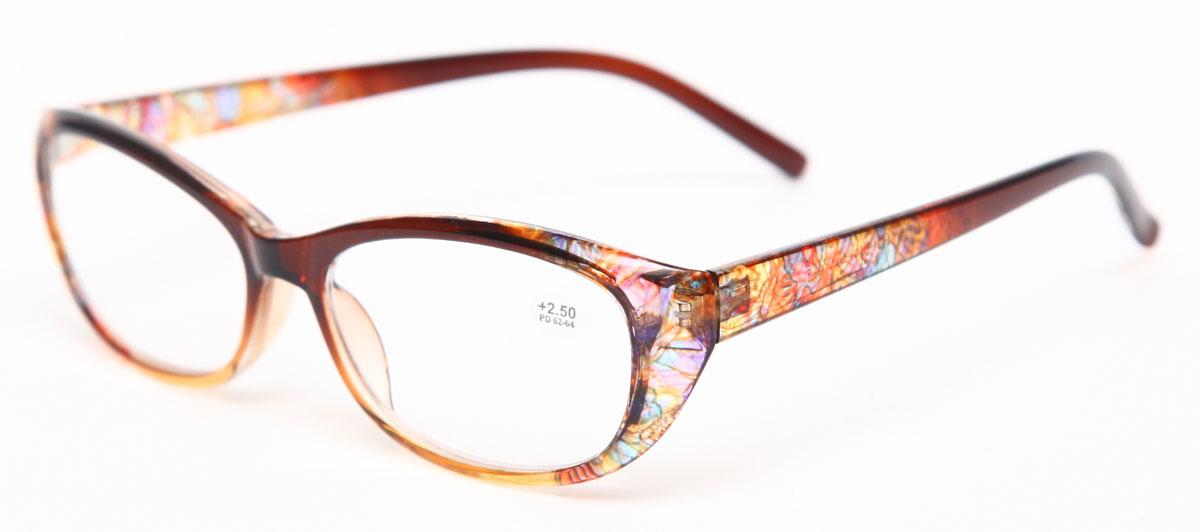Proffi Home Очки корригирующие (для чтения) 729 Fabia Monti +2.50, цвет: желтыйPH7289Надев эти очки, вы сможете четко видеть пространство впереди себя. Они удобны при чтении. Оправа очков легкая и не создает никакого дискомфорта.