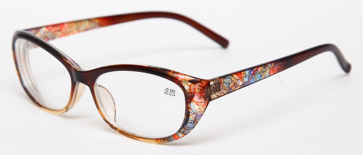 Proffi Home Очки корригирующие 729 Fabia Monti -2.00, цвет: желтыйPH7297Надев эти очки, вы сможете четко видеть пространство впереди себя. Они удобны при чтении. Оправа очков легкая и не создает никакого дискомфорта.