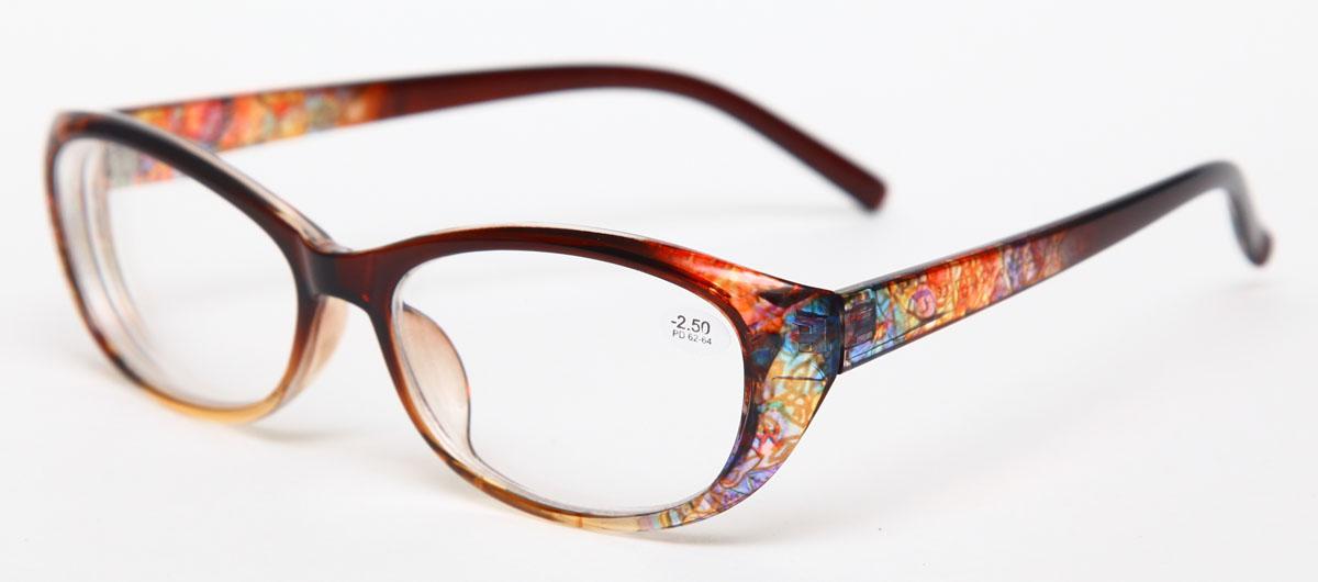 Proffi Home Очки корригирующие 729 Fabia Monti -2.50, цвет: желтыйPH7298Надев эти очки, вы сможете четко видеть пространство впереди себя. Они удобны при чтении. Оправа очков легкая и не создает никакого дискомфорта.