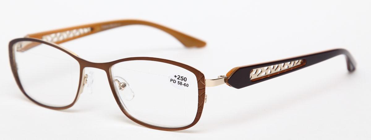 Proffi Home Очки корригирующие (для чтения) 827 Fabia Monti +2.50, цвет: оранжевыйPH7427Надев эти очки, вы сможете четко видеть пространство впереди себя. Они удобны при чтении. Оправа очков легкая и не создает никакого дискомфорта.