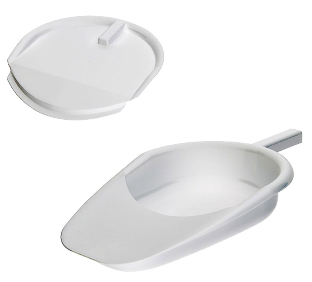 Avanti medical Судно подкладное пластмассовое, с крышкой4742225005724Судно подкладное пластмассовое (с крышкой) для ухода за больными.