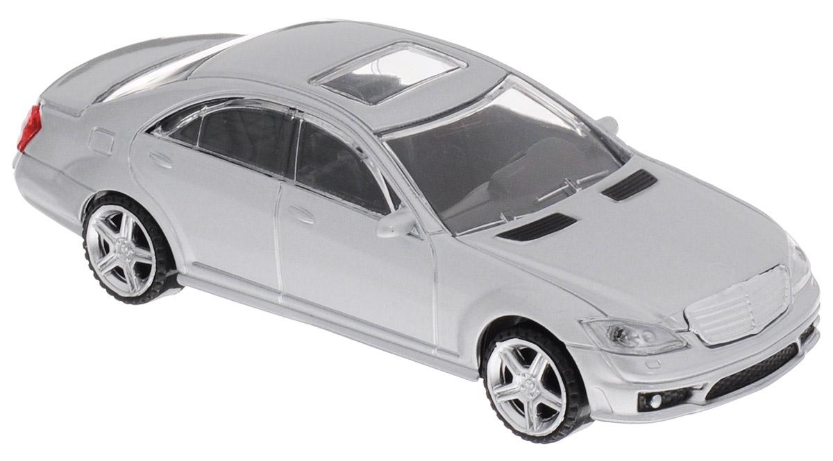 Rastar Модель автомобиля Mercedes-Benz S63 AMG цвет серебристый37100_серебристыйМодель автомобиля Rastar Mercedes-Benz S63 AMG будет отличным подарком как ребенку, так и взрослому коллекционеру. Благодаря броской внешности, а также великолепной точности, с которой создатели этой модели масштабом 1:43 передали внешний вид настоящего автомобиля, машинка станет подлинным украшением любой коллекции авто. Модель будет долго служить своему владельцу благодаря металлическому корпусу с элементами из пластика. Колеса машинки свободно вращаются. Модель автомобиля обязательно понравится вашему ребенку и станет достойным экспонатом любой коллекции.