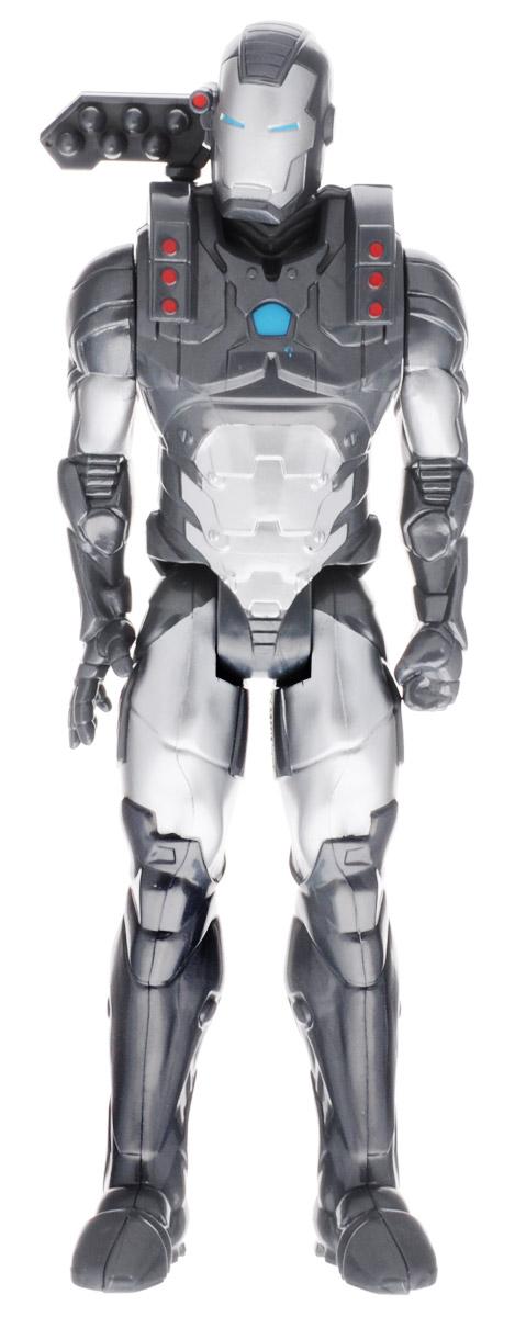 Avengers Фигурка Marvels War MachineB6660EU4_B6154Фигурка Avengers Marvels War Machine непременно привлечет внимание вашего ребенка и не позволит ему скучать. Фигурка выполнена в виде супергероя Воителя из команды Мстителей. Фигурка выполнена из прочного безопасного пластика. Она в точности повторяет внешний вид героя. Руки и ноги фигурки подвижны, что позволяет придавать ей различные позы и открывает ребенку неограниченный простор для игр. Воитель (War Machine) или Военная машина его настоящее имя Джеймс Руперт Роудс - вымышленный персонаж, появляющийся во вселенной Marvel Comics. В качестве полковника Джеймса Роудса, он впервые появился в комиксе под названием Железный Человек. Высокое качество исполнения этой фигурки порадует не только детей, но и взрослых коллекционеров, и такая фигурка займет достойное место в любой коллекции.