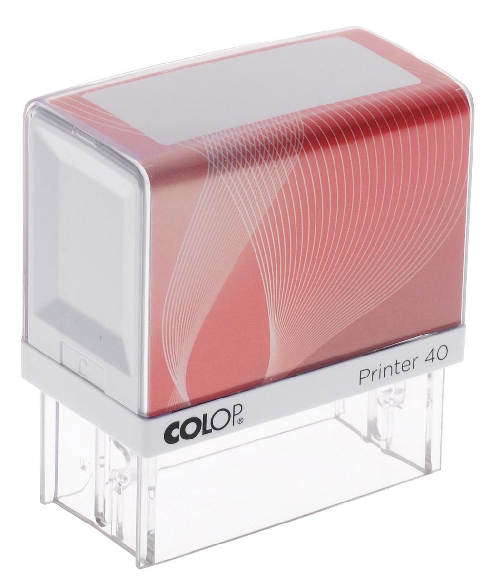 Colop Оснастка для штампа цвет красный 23 х 59 мм