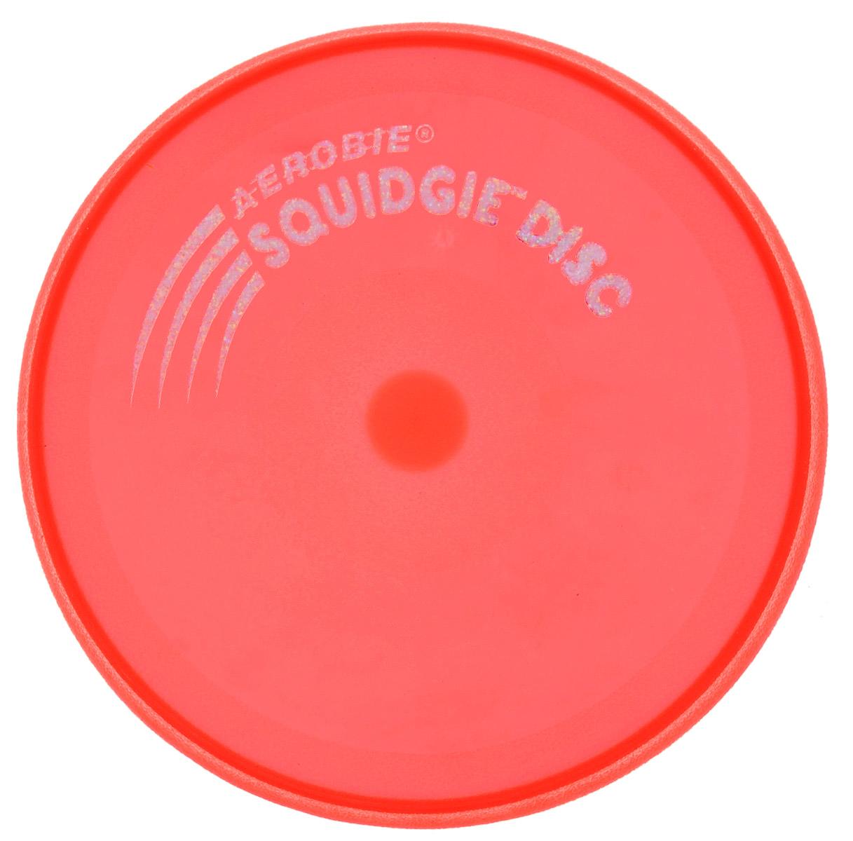 Aerobie Летающий диск Squidgie цвет коралловый81_коралловыйЛетающий диск Aerobie Squidgie имеет расширенный аэродинамический дизайн для повышения стабильности и точности. Диск очень гибкий и упругий, его удобно ловить. Диск плавает в воде, поэтому он идеально подходит для бассейна или пляжа. Игрушка мягкая, но прочная - собаки его тоже полюбят!