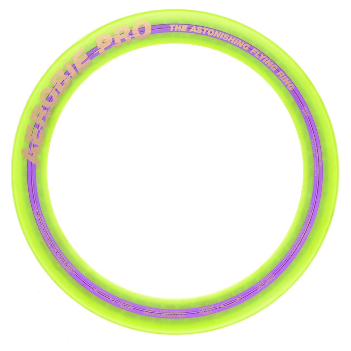 Aerobie Летающее кольцо Pro Ring цвет салатовый