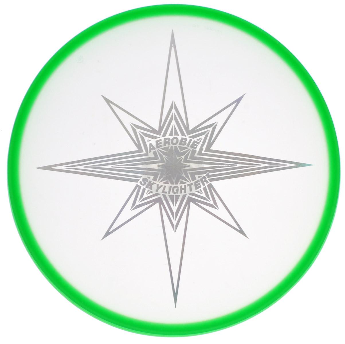 Aerobie Летающий диск Skylighter цвет зеленый