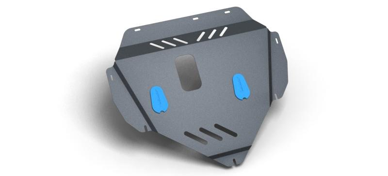 Комплект Защита картера и крепеж ТагАЗ C100 (2009-) (2мм) 1,6бензин МКППNLZ.77.04.020 NEW