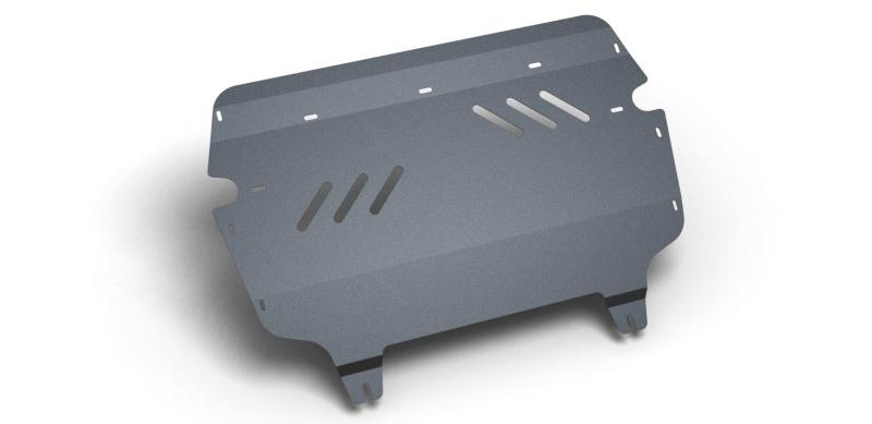 Комплект Защита картера и крепеж VW Passat B7 (2011-), Passat CC (2009-) (2мм) 1,4/1,8/2,0 бензин МКПП/АКППNLZ.51.27.020 NEW