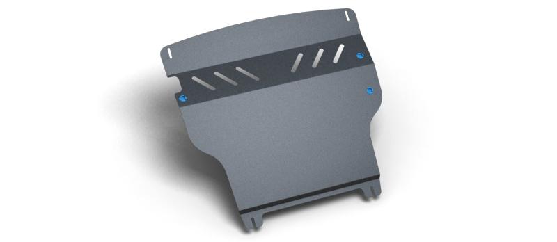 Комплект Защита картера и крепеж SKODA Octavia Tour (2004-2010) (2мм) 1,4/1,6/1,8/2,0 бензин МКПП/АКППNLZ.45.02.020 NEW