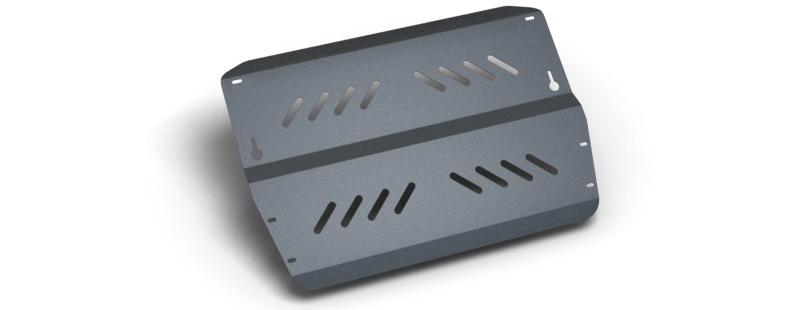 Комплект Защита картера и крепеж PEUGEOT 407 (2004-) (2мм) 1.8/2.0/3.0/2,2d МКПП/АКППNLZ.38.04.020 NEW
