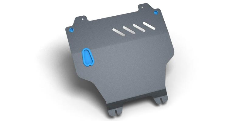 Комплект Защита картера и крепеж LIFAN Breez (2006-) (2мм) 1,6 бензин MКППNLZ.73.01.020 NEW