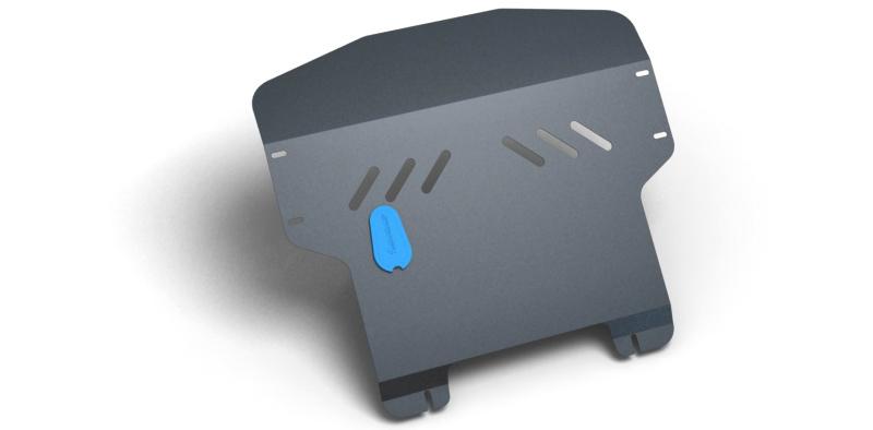 Комплект Защита картера и крепеж KIA Picanto (2006-2008) (2мм) 1,0/1,1 бензин МКПП/АКППNLZ.25.23.020 NEW
