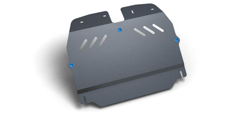 Комплект Защита картера и крепеж KIA Carens (2006-2012) (2мм) 1,6 2,0 бензин МКПП/АКППNLZ.25.22.020 NEW