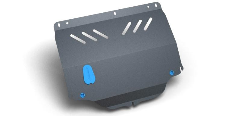 Комплект Защита картера и крепеж KHORDO Samand (2002-) (2мм) 1,6/1,8 бензин МКППNLZ.70.01.020 NEW