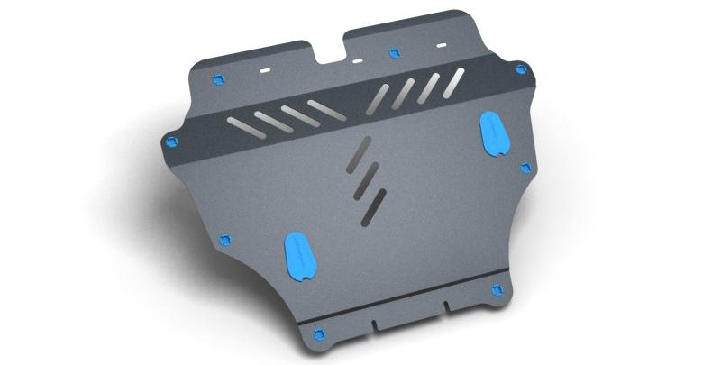 Комплект Защита картера и крепеж HYUNDAI Grandeur (2006-2012) (2мм) 2,7/3,3 бензин АКППNLZ.20.26.020 NEW