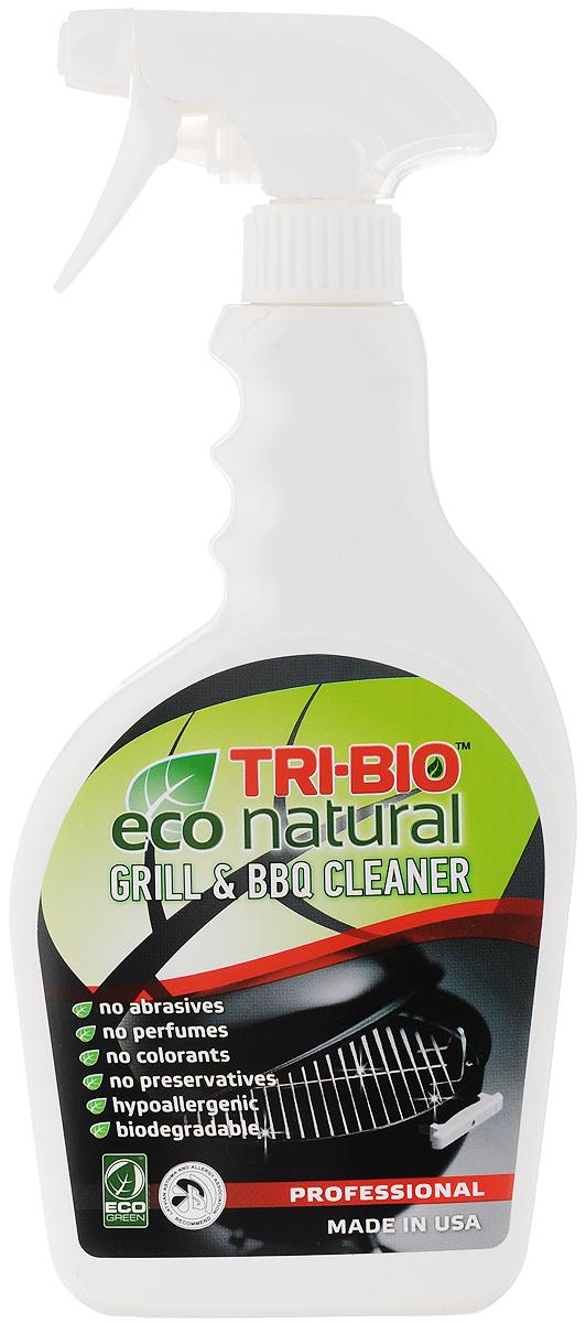 Биосредство для чистки гриля и барбекю Tri-Bio, 420 мл0160Профессиональное биосредство Tri-Bio превосходно чистит грили, барбекю, мангалы, фритюрницы, вытяжки, шампура и многое другое. Очищает любые виды поверхностей. Эффективно даже при сильном застарелом загрязнении. Ликвидирует запахи. Абсолютно безопасно для всех типов поверхностей. В отличие от стандартных химических, продуктов легко проникает в швы, позволяет обеспечить более длительный контроль запаха и более глубокую чистку. Товар сертифицирован.