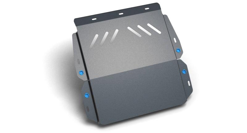 Комплект Защита картера и крепеж CADILLAC SRX (2010-) (2мм) 3,0/2,8 бензин АКППNLZ.07.06.020 NEW