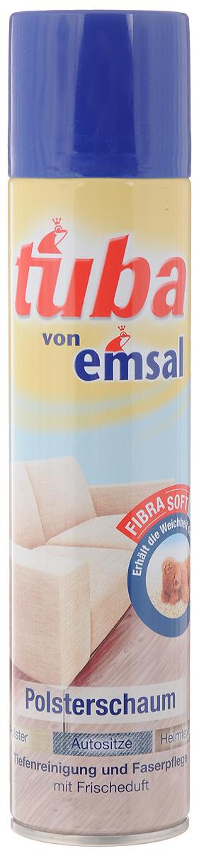 Пена для чистки мягкой мебели Tuba, 300 мл8601-2Пена Tuba быстро чистит все виды мягкой мебели без промокания ткани и предотвращает быстрое повторное загрязнение. Подходит для всех обивных тканей со стойкой краской (из натуральных и синтетических волокон), чехлов и обивки сидений в автомашине, и чехлов для пластмассовой мебели. Товар сертифицирован.