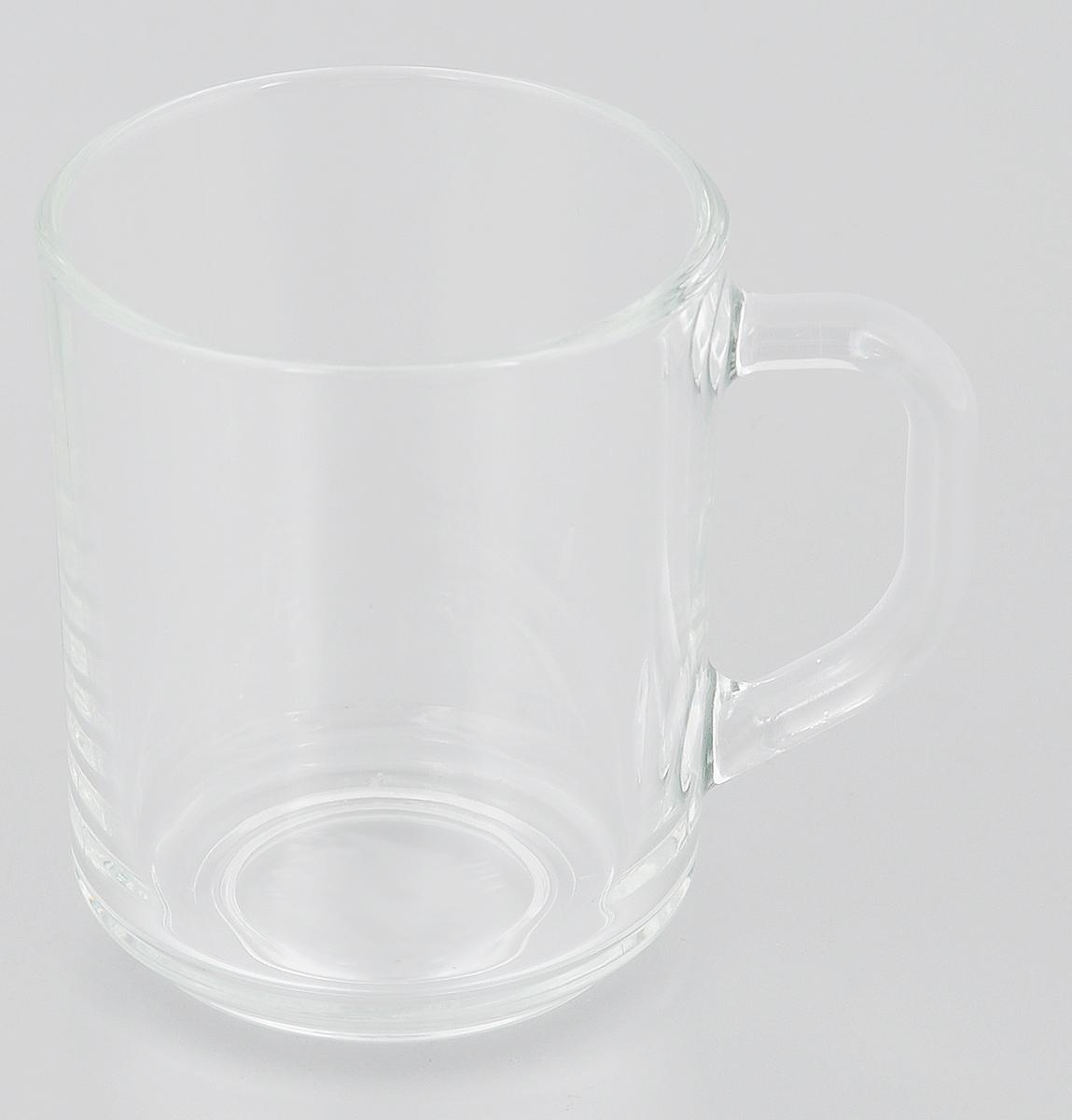 Кружка Luminarc, 250 млH8437Кружка Luminarc изготовлена из упрочненного стекла. Такая кружка прекрасно подойдет для горячих и холодных напитков. Она дополнит коллекцию вашей кухонной посуды и будет служить долгие годы. Диаметр кружки (по верхнему краю): 7,4 см. Высота кружки: 9,5 см.