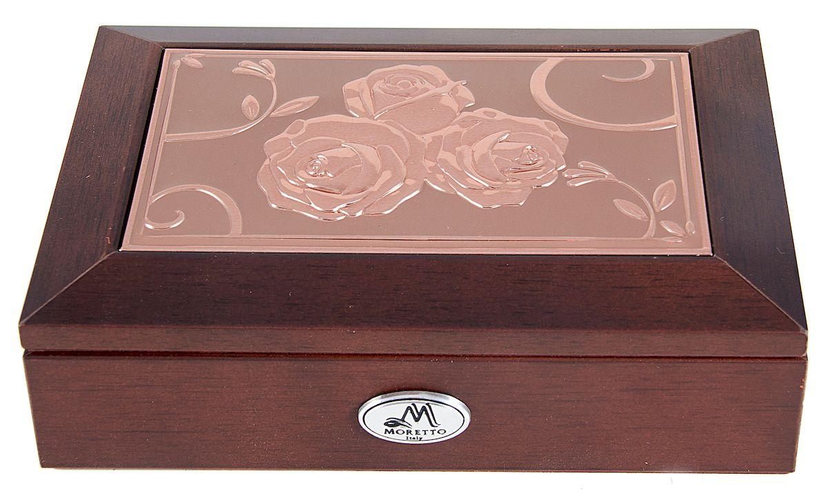 Шкатулка для ювелирных украшений Moretto, 18х13х5 см. 139595139595