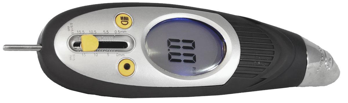 Цифровой манометр для шин и измеритель глубины протекторов