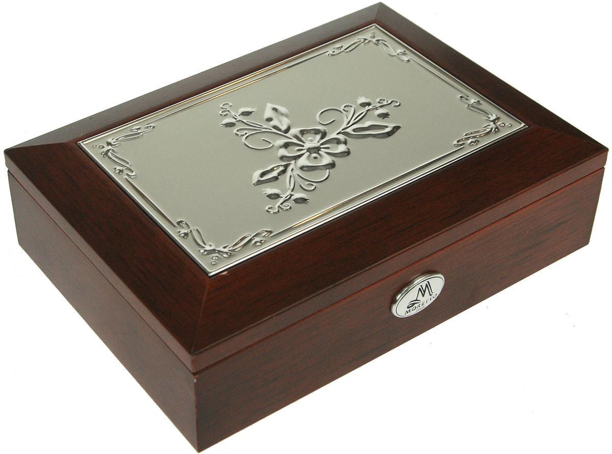 Шкатулка для ювелирных украшений Moretto, 18х13х5 см. 139517139517