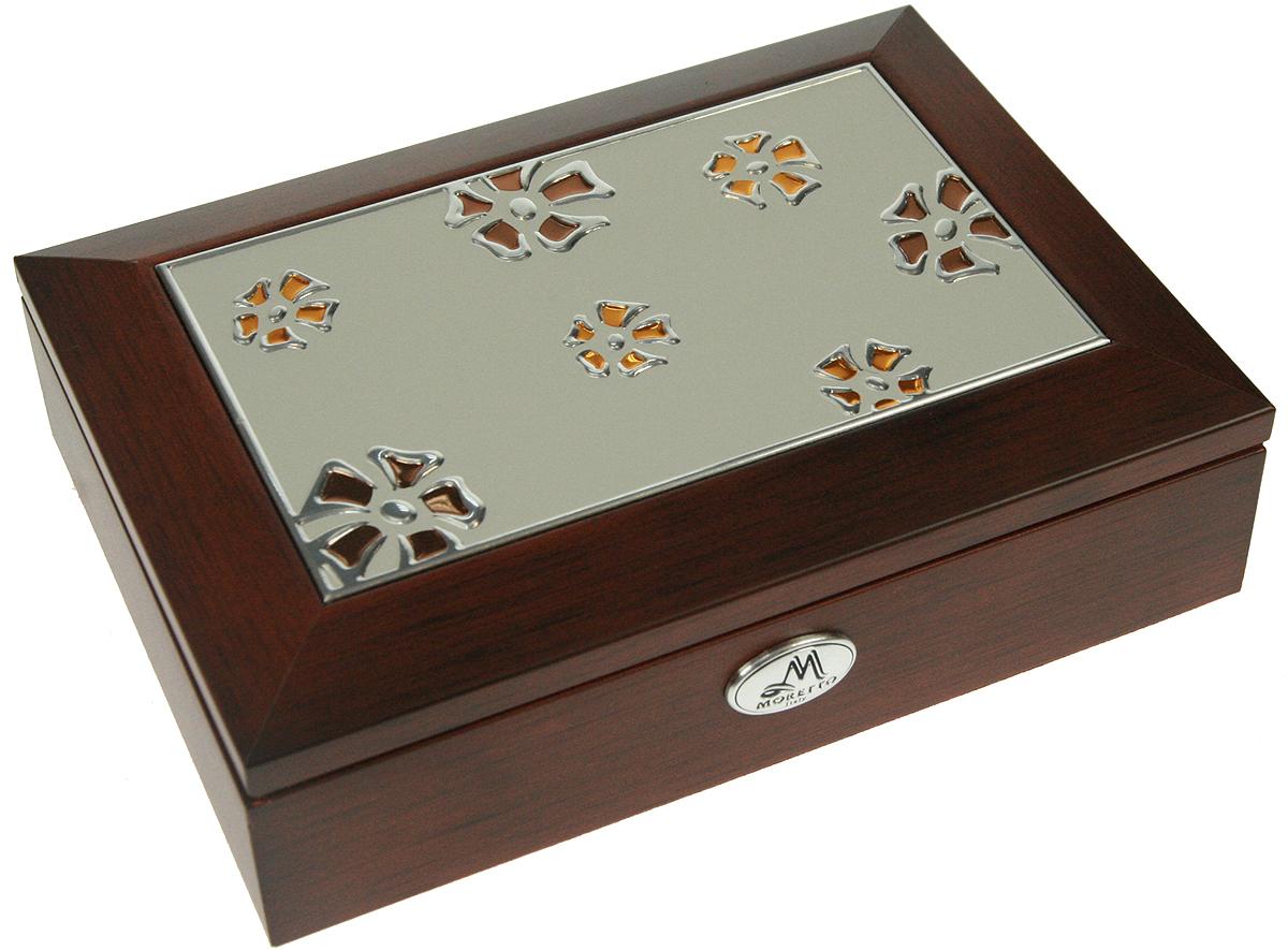 Шкатулка для ювелирных украшений Moretto, 18х13х5 см. 139518139518