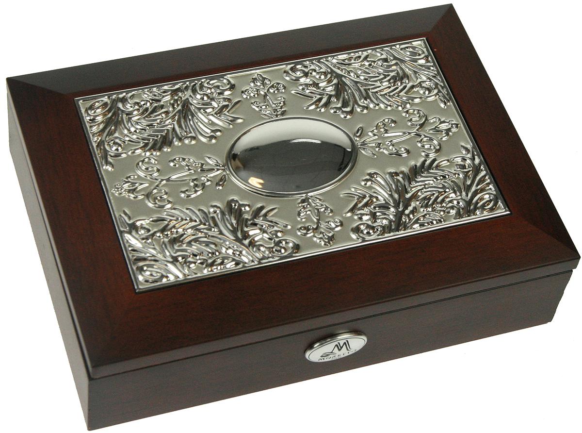 Шкатулка для ювелирных украшений Moretto, 18х13х5 см. 139522139522