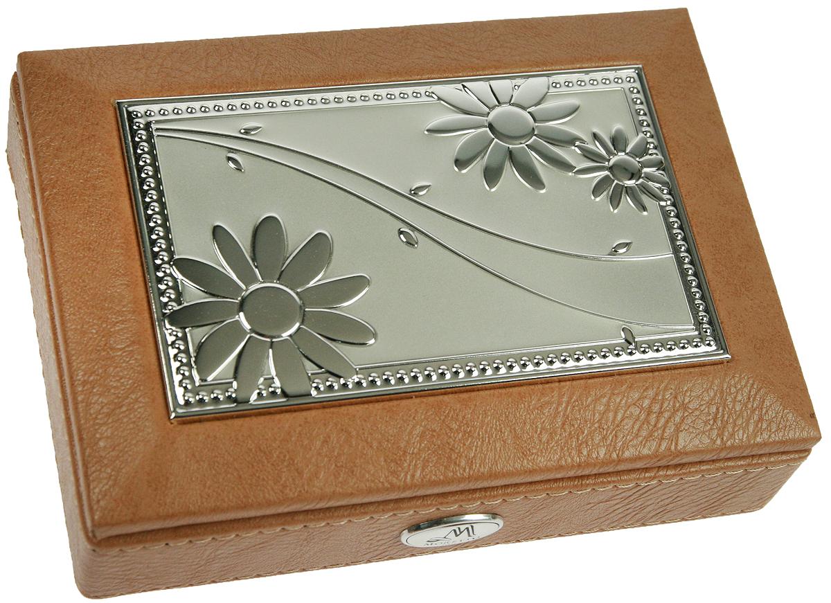 Шкатулка для ювелирных украшений Moretto, 18х13х5 см. 139536139536