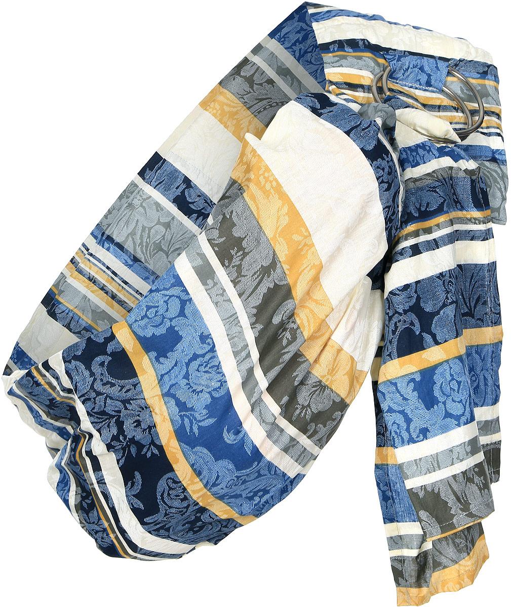 Спортбэби Перевязь-слинг цвет белый синий